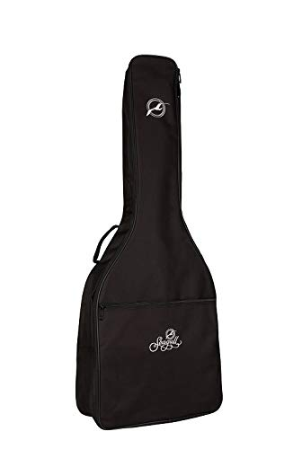 Godin Guitars 034826 Seagull Dreadnaught Guitar Gig Bag, Black with Logo