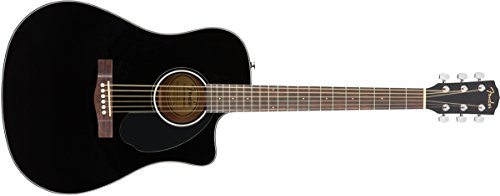 CD-60-SCE Acoustic-Electric Black - Dreadnought
