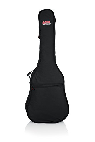 Gator Cases Gig Bag for Classical Style Acoustic Guitars (GBE-CLASSIC),Black