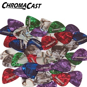 ChromaCast CC-CP-48PK Pearl Celluloid Guitar Picks
