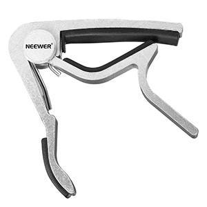Neewer Silver Single-handed Guitar Capo Quick Change