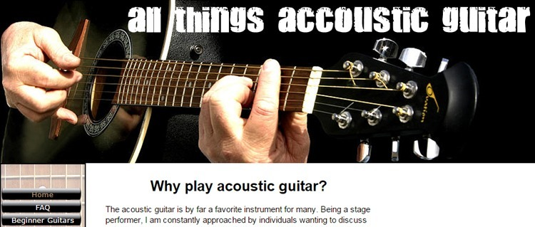 All Things Acoustic Guitar Blog