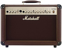 Marshall Acoustic Soloist AS50D-50 Watt Acoustic Guitar Amplifier With 2 Channels Digital Chorus and Reverb
