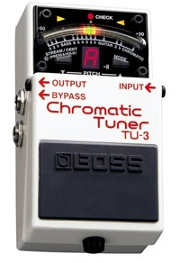 Boss TU 3 Chromatic Tuner