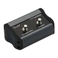 Fender Acoustasonic 2 button Footswitch