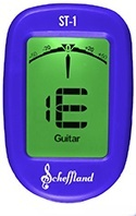 Guitar Tuner Clip On - The Scheffy Tuner by Scheffland Music Products - Endorsed by Touring Professionals and LA's Top Session Musicians