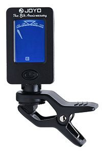 Sinsun FT-11 Tuner for Guitar, Bass, Chromatic and Violin, with 1 Black Single-handed Guitar Capo