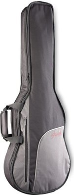 Stagg STB 10W Economy Gig Bag for Folk Western Dreadnought Guitar with 10 Millimetre Foam Padding & Shoulder Straps Black