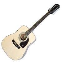 Epiphone DR-212 Acoustic Guitar 12 String Natural