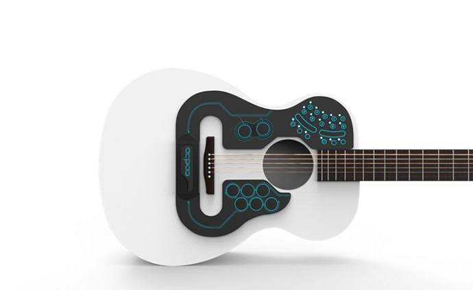 ACPAD Wireless Midi Controller Acoustic Guitar