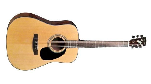 Bristol by Blueridge BD-16 Dreadnaught Acoustic Guitar Natural Review