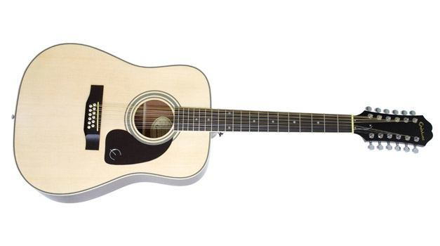 Epiphone DR-212 Acoustic Guitar 12 String Natural Review