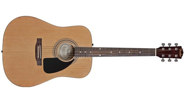 Fender FA-100 Acoustic Guitar With Gig Bag Review