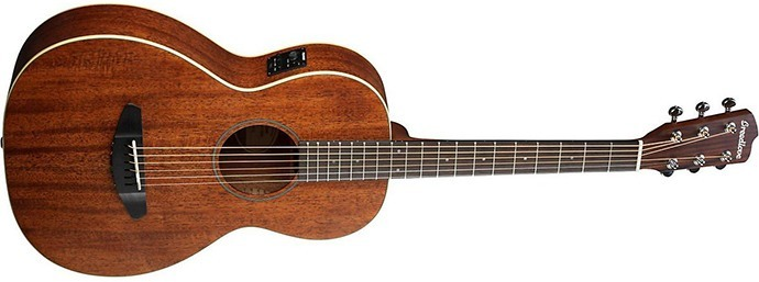 Breedlove Passport Parlor Satin Mahogany Acoustic Electric Guitar Natural
