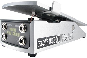Ernie Ball 250k Mono Volume Pedal with Switch (for use with Passive electronics)
