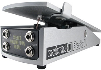 Ernie Ball 500k Stereo Volume Pan Pedal
