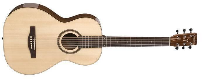 Simon & Patrick Woodland Pro Parlor Acoustic Guitar Spruce HG