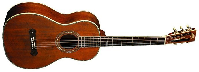 Washburn R319SWKK Parlor Acoustic Guitar Vintage Natural