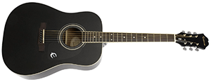 Epiphone DR-100 (Dreadought), Black