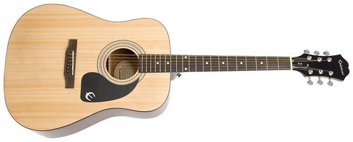 Epiphone DR 100 (Dreadought), Natural