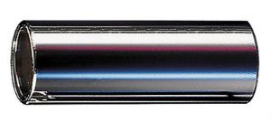 Dunlop 220 Chromed Steel Slide, Medium Wall Thickness, Medium