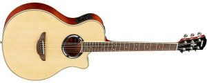Yamaha APX500III NA Thinline Acoustic-Electric Cutaway Guitar, Natural