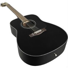 Yamaha F335 Acoustic Guitar Black angle