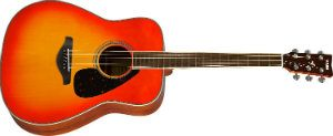 Yamaha FG820 Acoustic Guitar, Autumn Burst