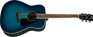 Yamaha FG820 Acoustic Guitar, Sunset Blue