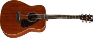 Yamaha FG850 Acoustic Guitar, Mahogany