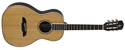 Alvarez Artist Series AP70 Parlor Guitar, Natural - Gloss Finish