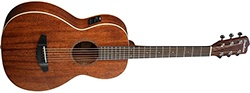 Breedlove Passport Parlor Satin Mahogany Acoustic-Electric Guitar Natural