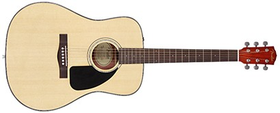 Fender CD-60CE Dreadnought Cutaway Acoustic-Electric Guitar - Natural