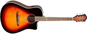 Fender T-Bucket 300 Acoustic Electric Guitar, Rosewood Fingerboard - 3-Color Sunburst