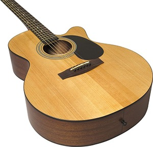 Jasmine S34C NEX Acoustic Guitar build