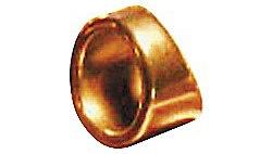 Peaceland Guitar Ring 1 Brass Guitar Ring Slide Size 9