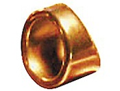 Peaceland Guitar Ring 1 Brass Guitar Ring Slide Size 9