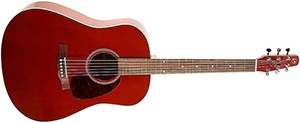 Seagull S6 Cedar Acoustic-Electric Guitar Red