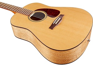 Seagull S6 Original Acoustic Guitar angle