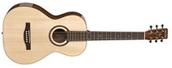 Simon & Patrick Woodland Pro Parlor Acoustic Guitar - Spruce HG