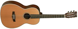 Tanglewood Solid Top&Back Cedar - Mahogany Guitar, Natural Satin (TW73)