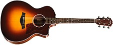 Taylor 214ce Deluxe Grand Auditorium wElectronics - Sunburst