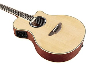Yamaha APX500III-BL Thinline Acoustic Electric Cutaway Guitar, build