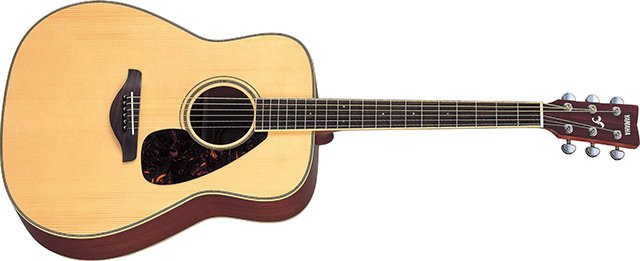 Yamaha FG720S Folk Acoustic Guitar with Mahogany Back and Sides Natural