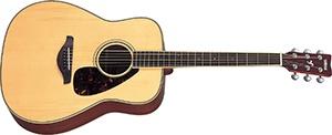 Yamaha FG720S Folk Acoustic Guitar with Mahogany Back and Sides Natural