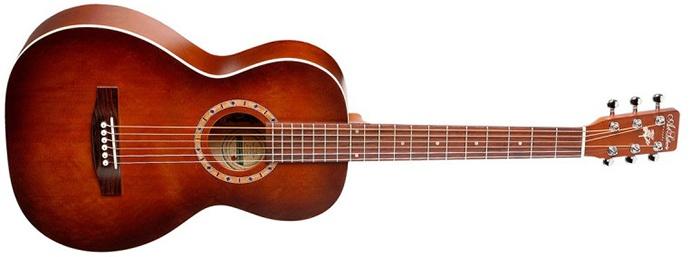 Art and Lutherie Ami Cedar Antique Burst Acoustic Guitar