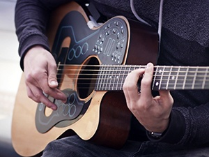 ACPAD on a Guitar