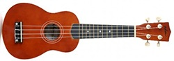 "ADM 21"" Economic Soprano Ukulele Start Pack with Gig Bag and Tuner"