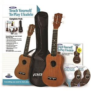 Alfreds Teach Yourself to Play Ukulele Complete Starter Pack