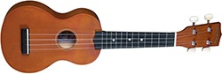 Diamond Head DU-150 Soprano Ukulele – Mahogany Brown